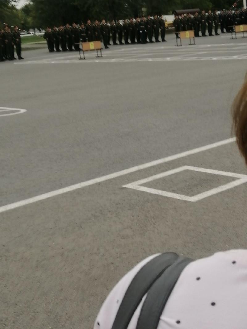 Присяга курсантов Омского автобронетанкового инженерного института